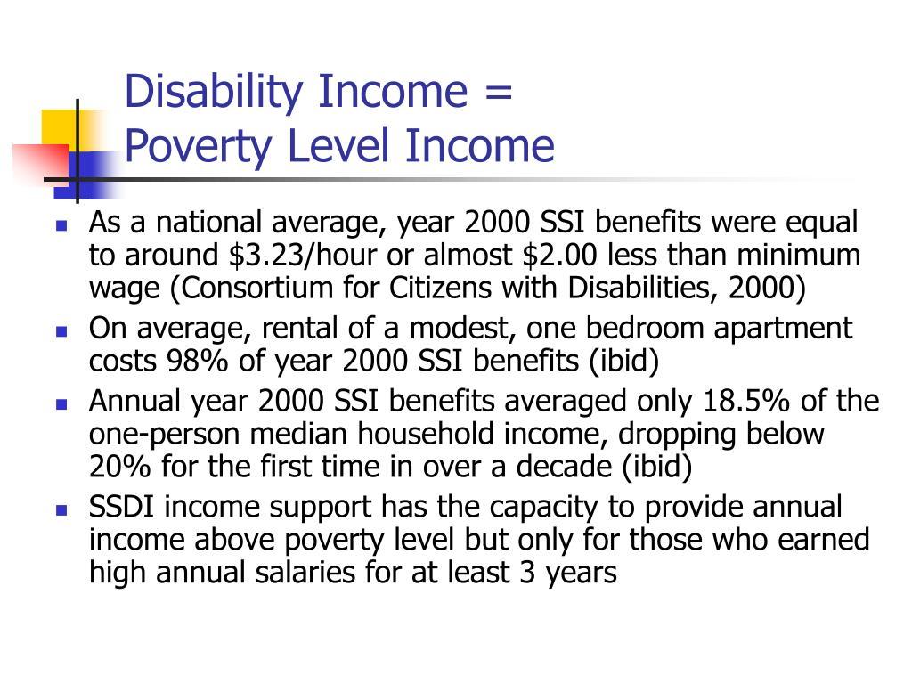 Disability Income =