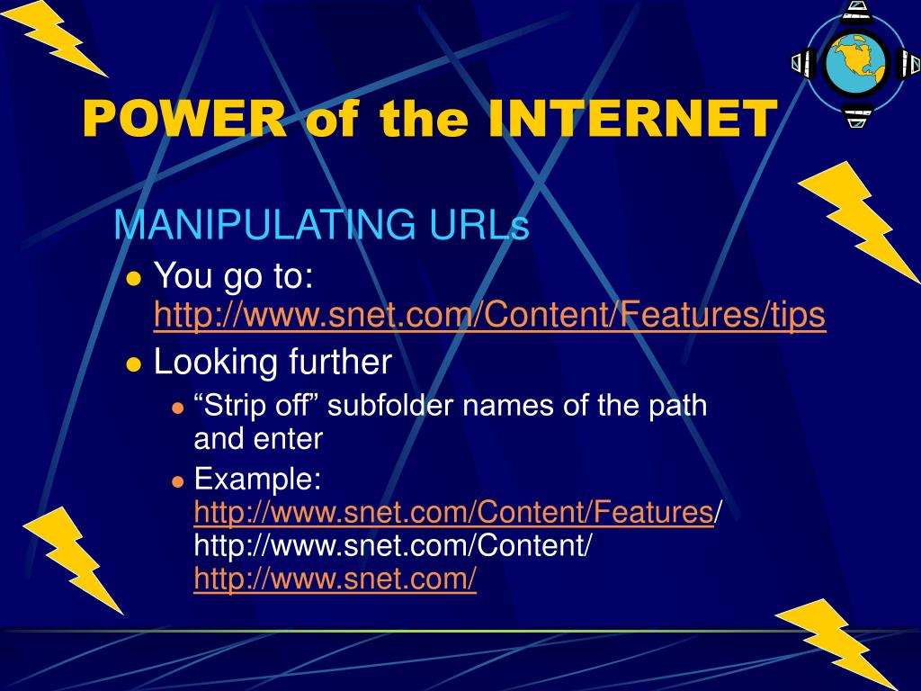MANIPULATING URLs