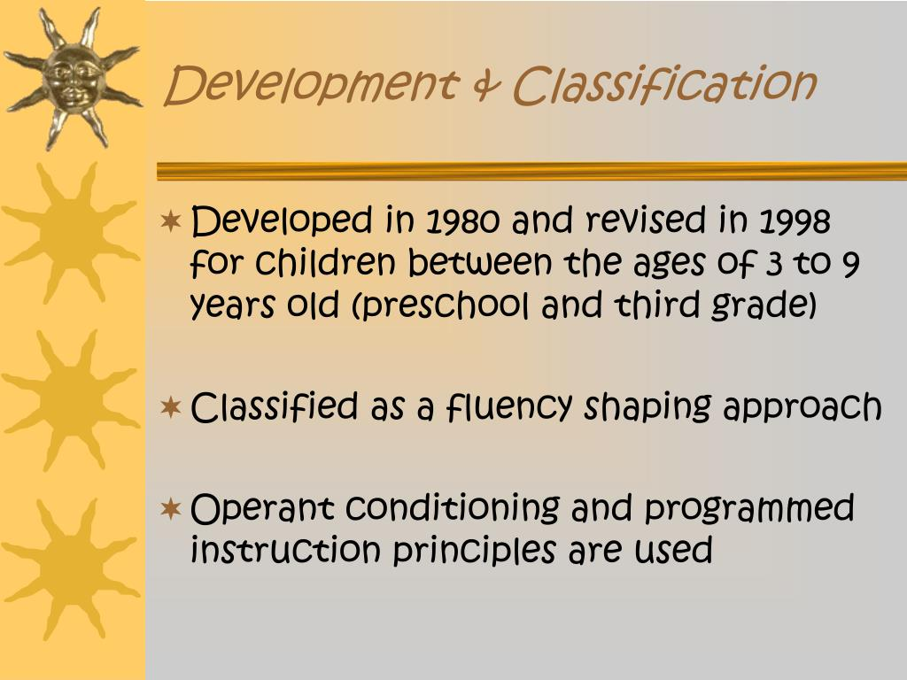 Development & Classification
