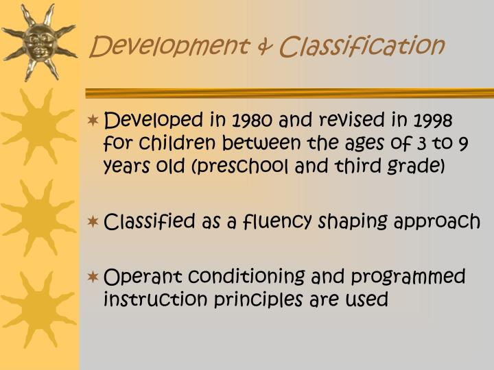 Development classification