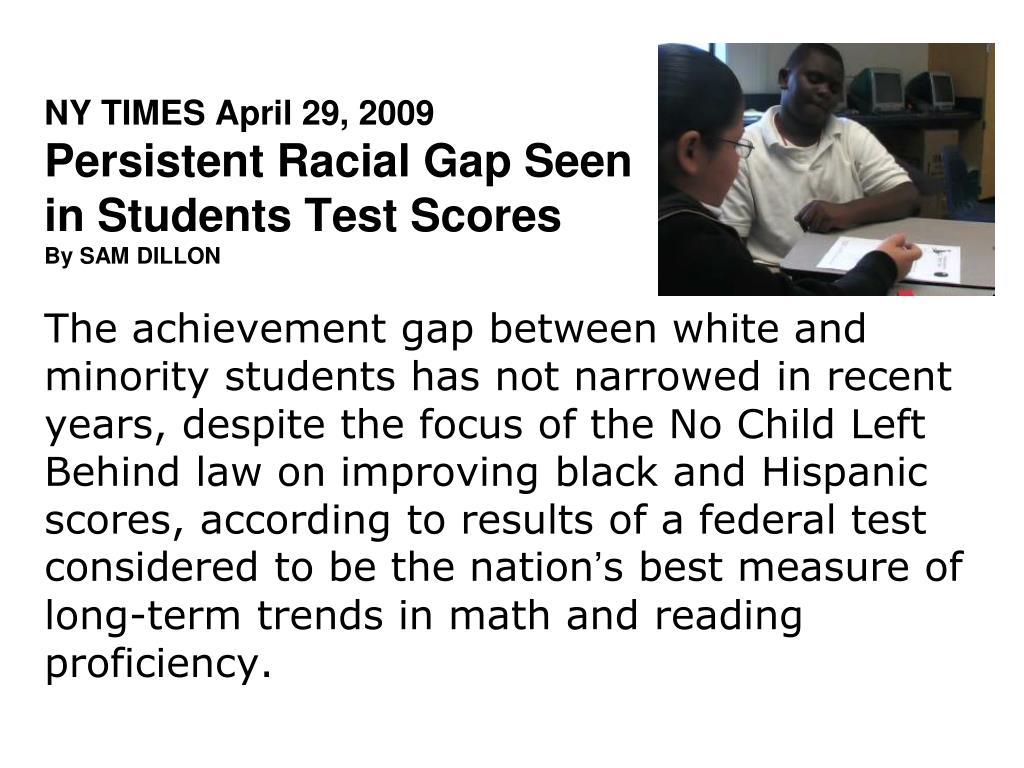 NY TIMES April 29, 2009