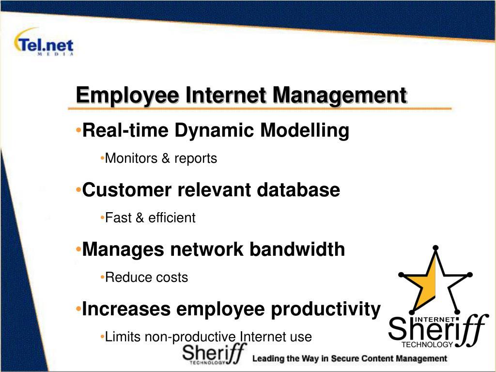 Employee Internet Management