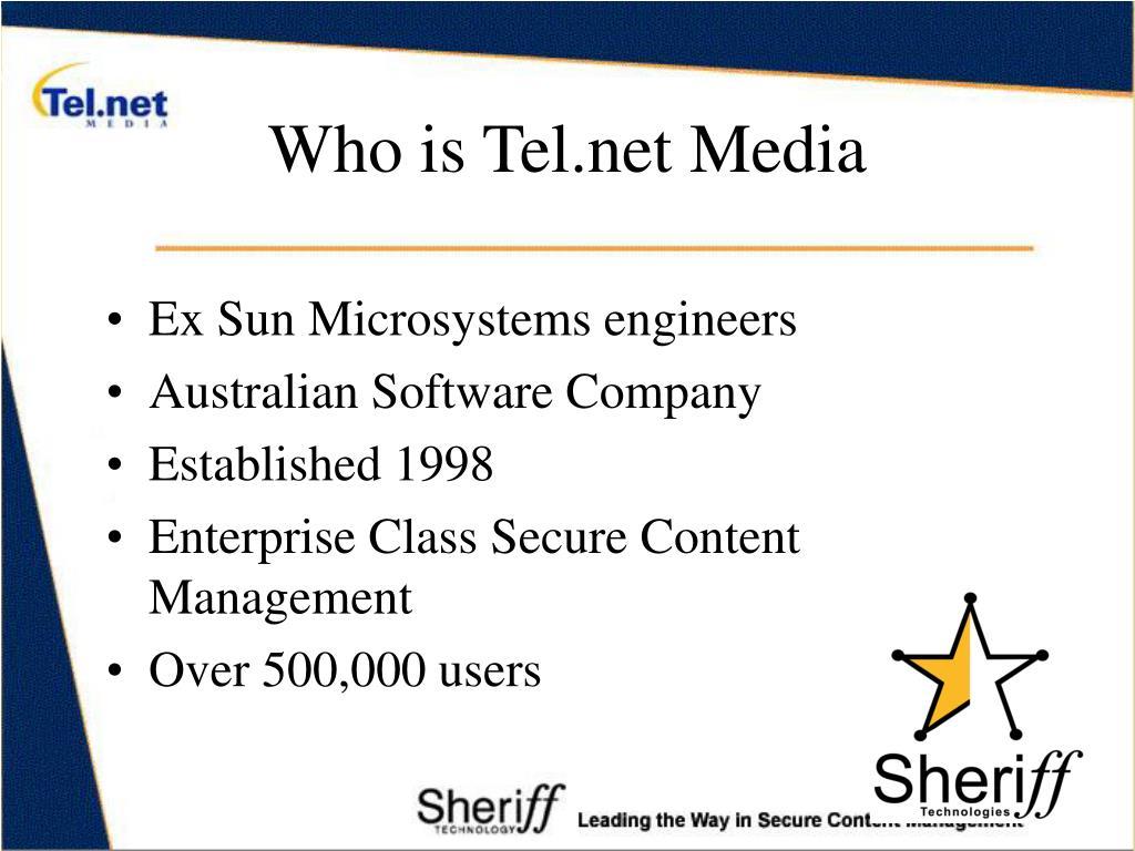 Who is Tel.net Media