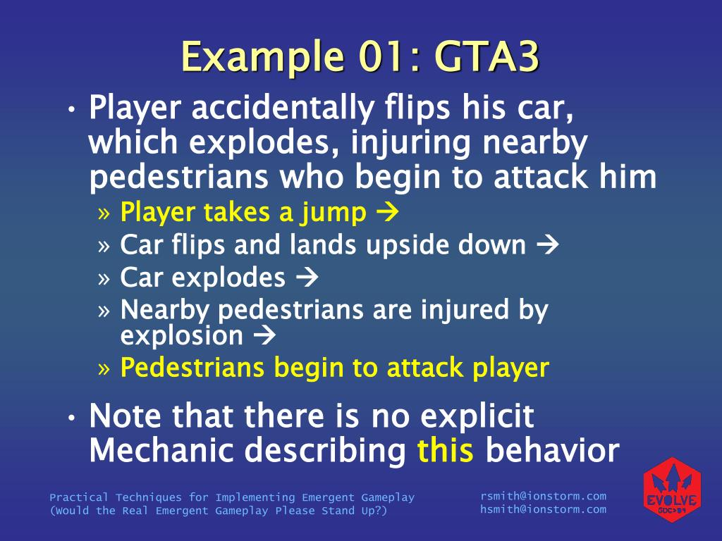 Example 01: GTA3