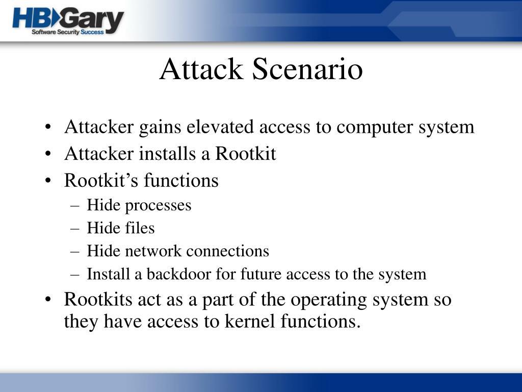 Attack Scenario
