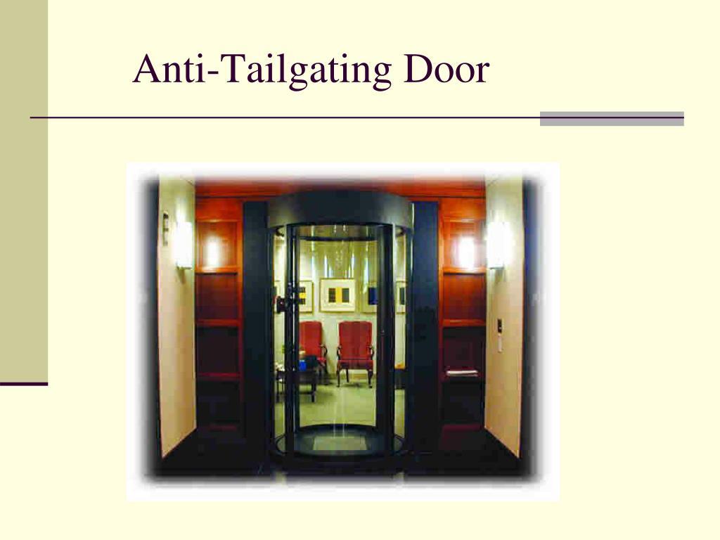 Anti-Tailgating Door