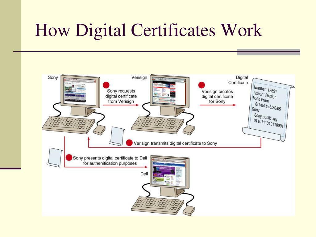 How Digital Certificates Work