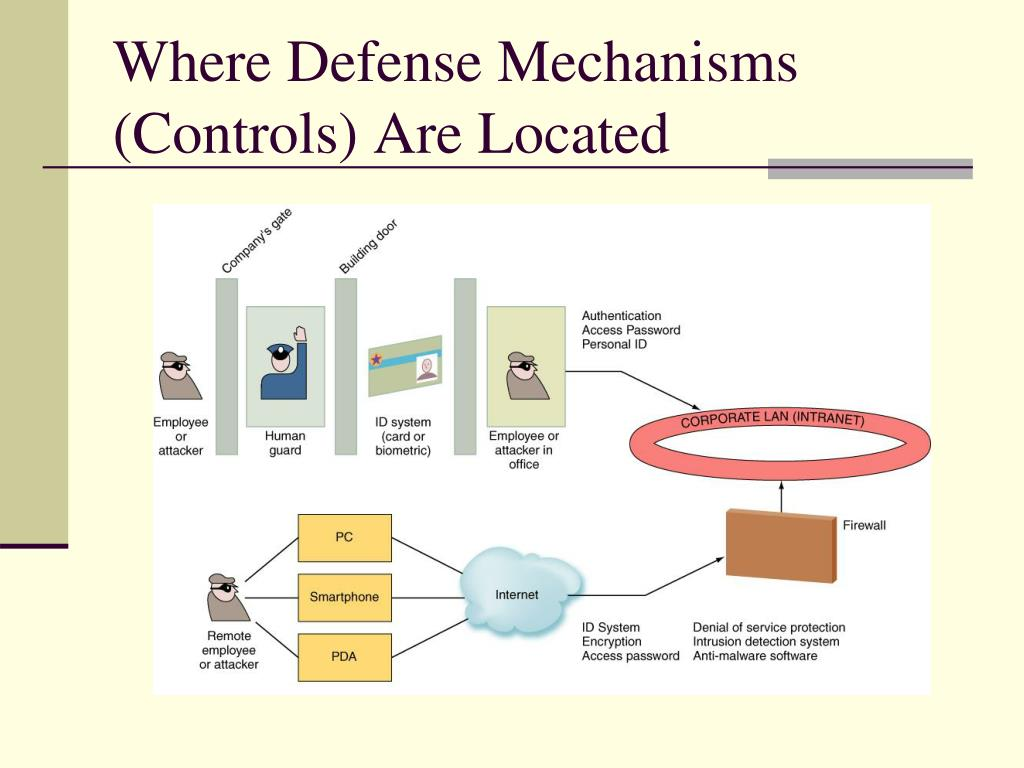 Where Defense Mechanisms (Controls) Are Located