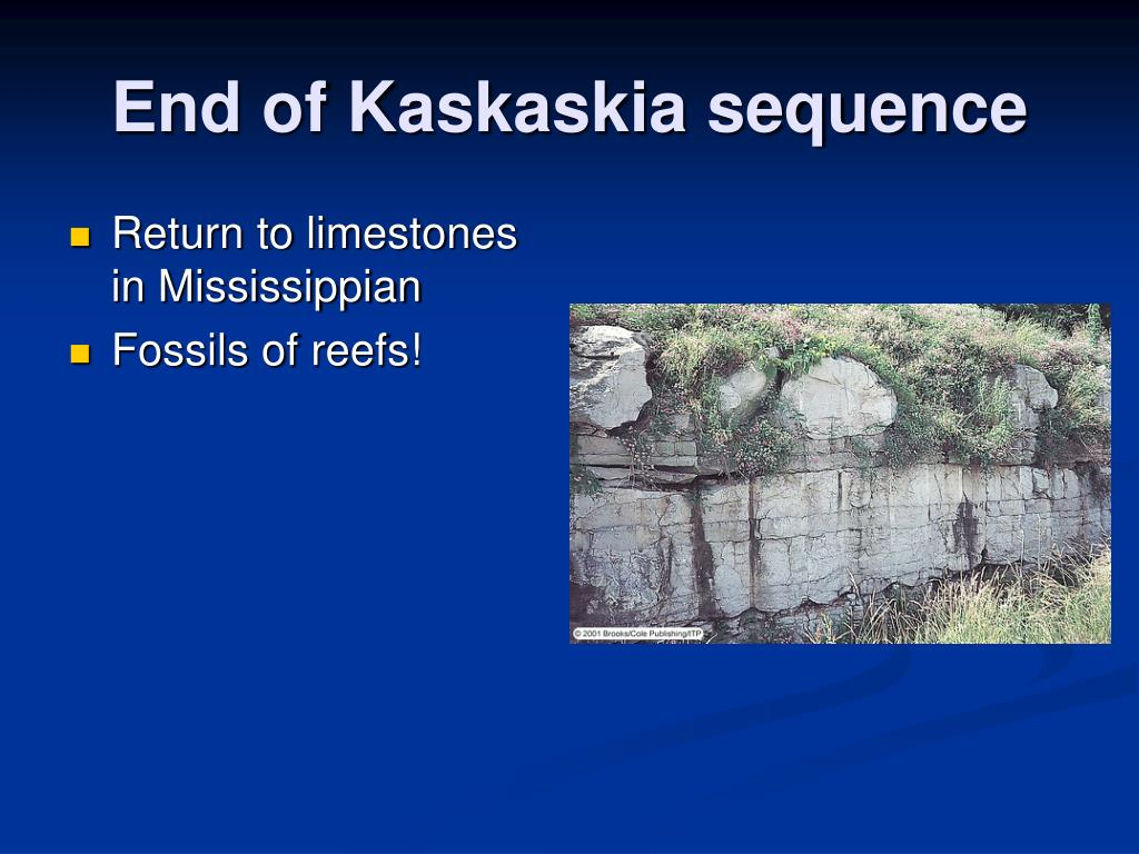 End of Kaskaskia sequence