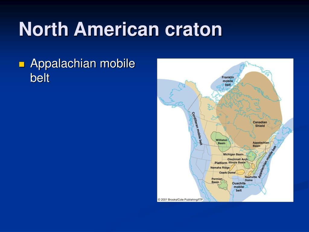 North American craton