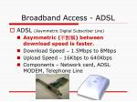 broadband access adsl9