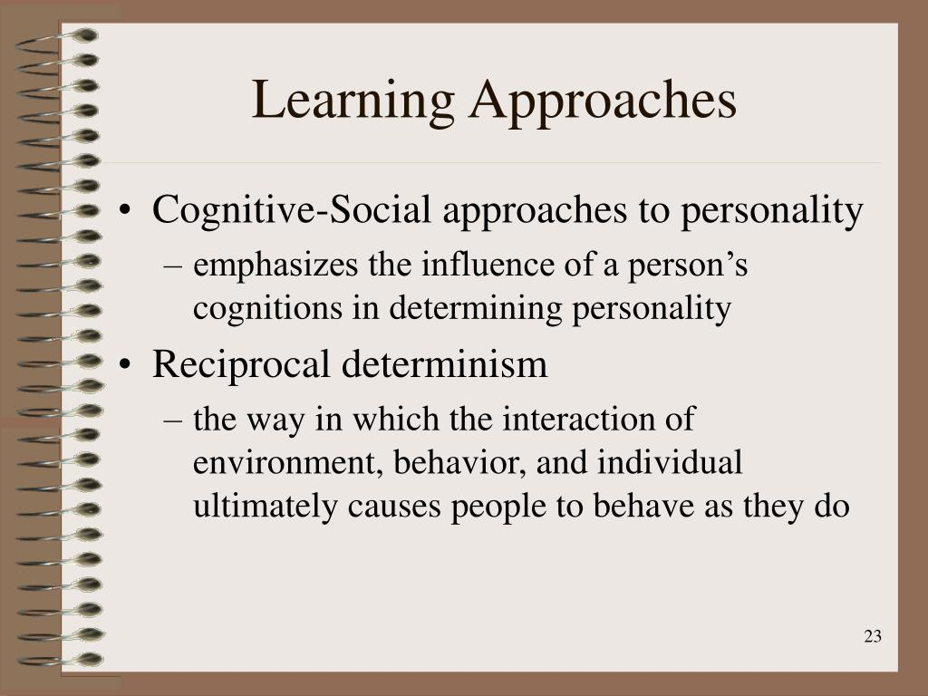 Learning Approaches