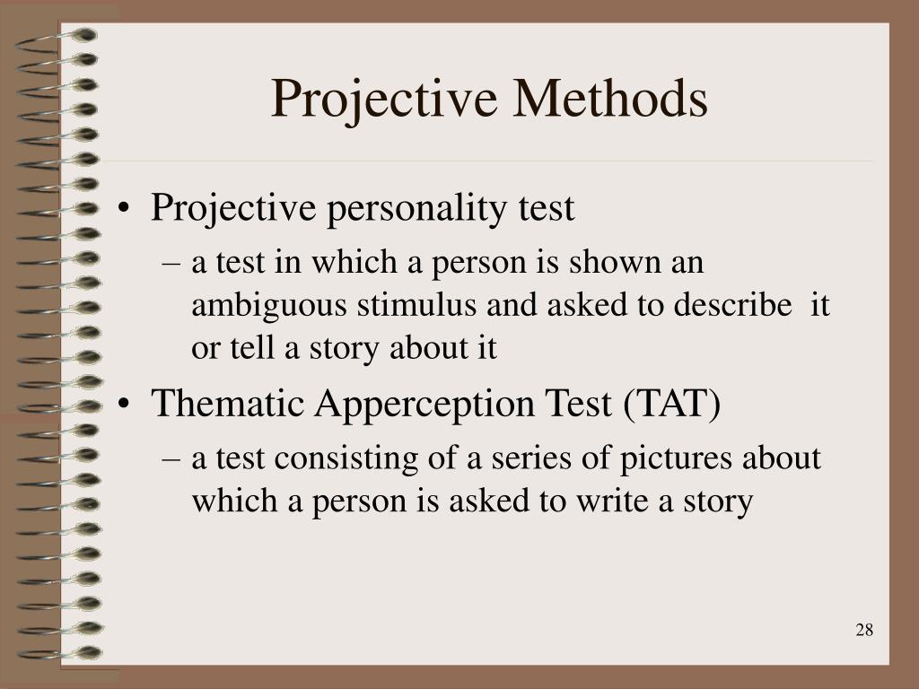 Projective Methods