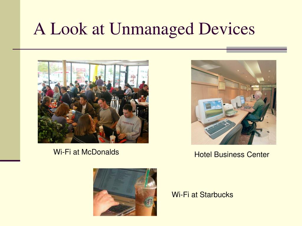 A Look at Unmanaged Devices