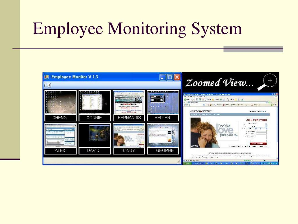 Employee Monitoring System