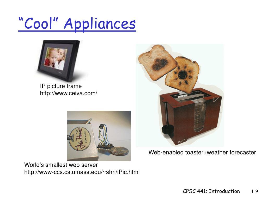 """""""Cool"""" Appliances"""