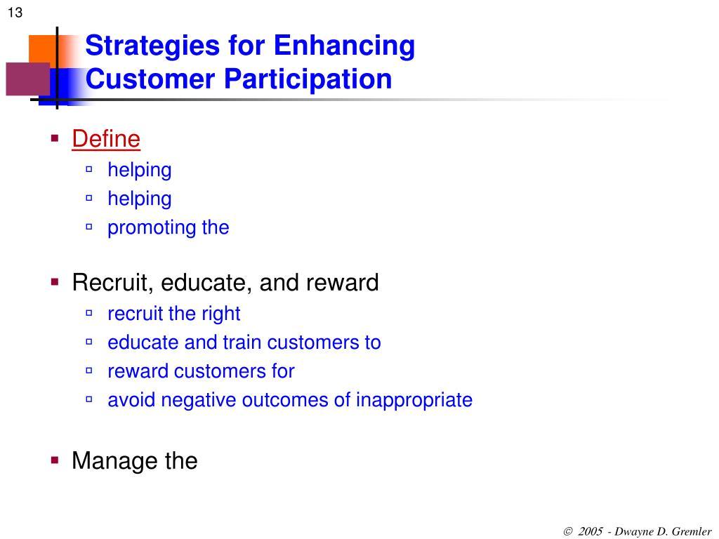 Strategies for Enhancing