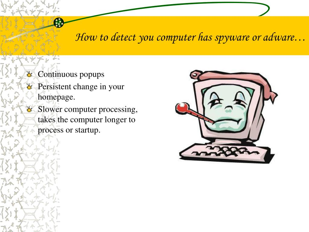 How to detect you computer has spyware or adware…