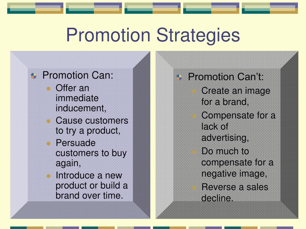 Promotion Can: