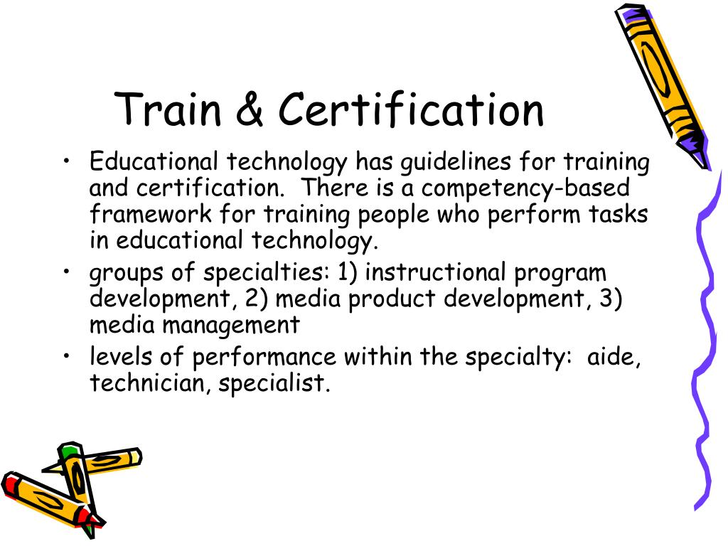 Train & Certification