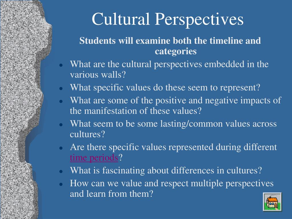 Cultural Perspectives