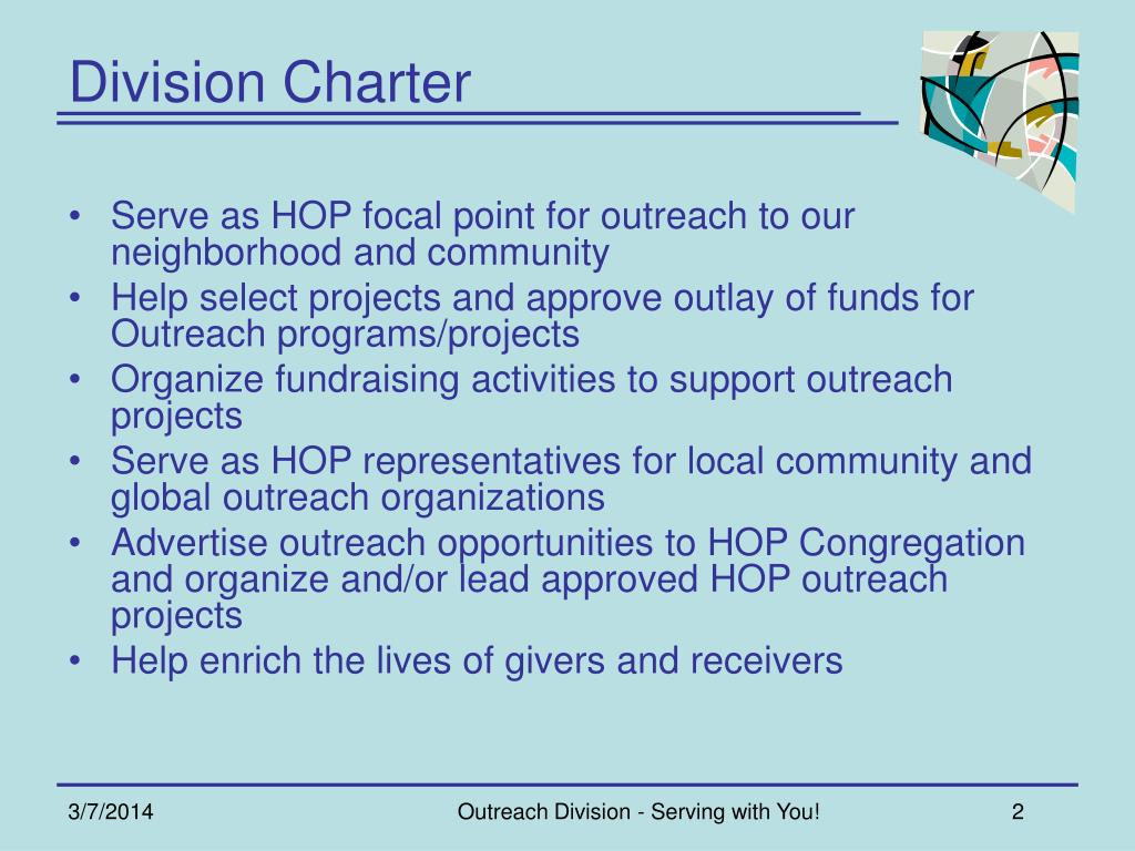 Division Charter
