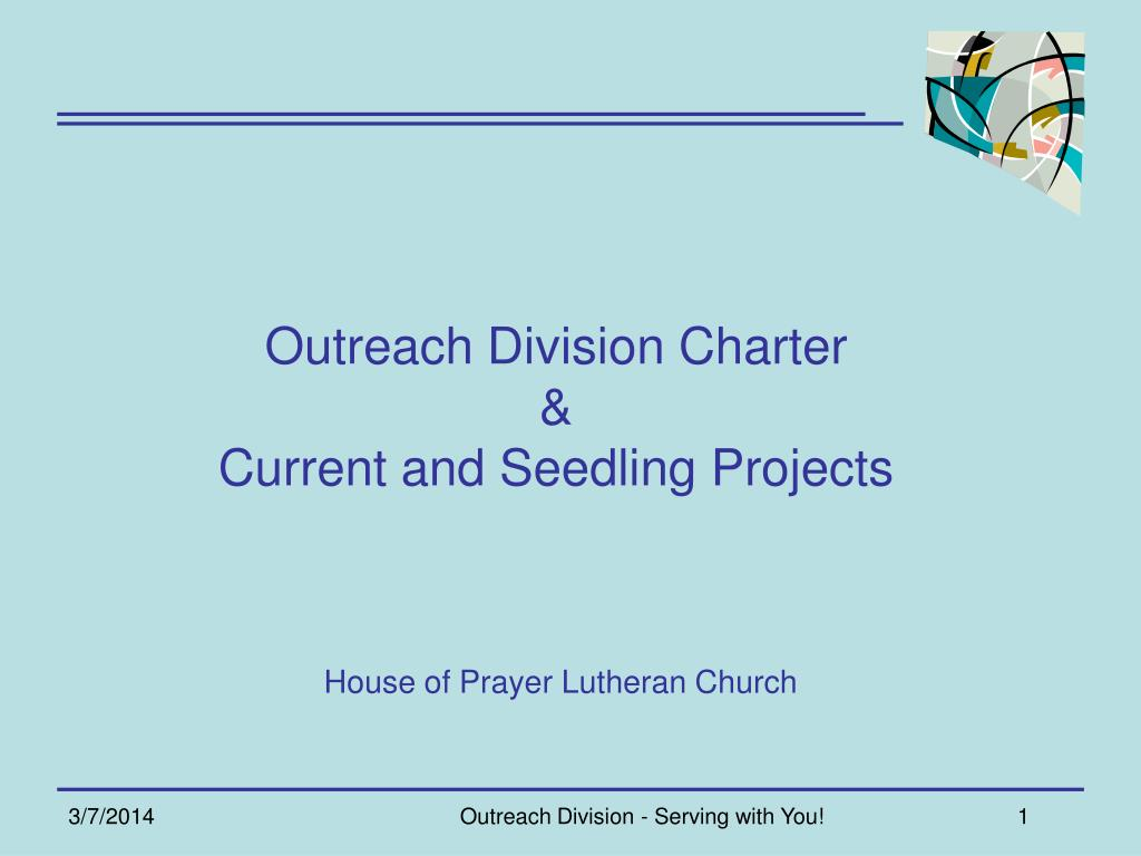 Outreach Division Charter