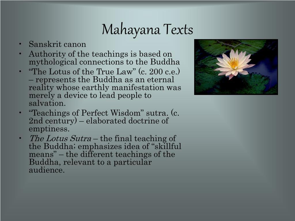 Mahayana Texts