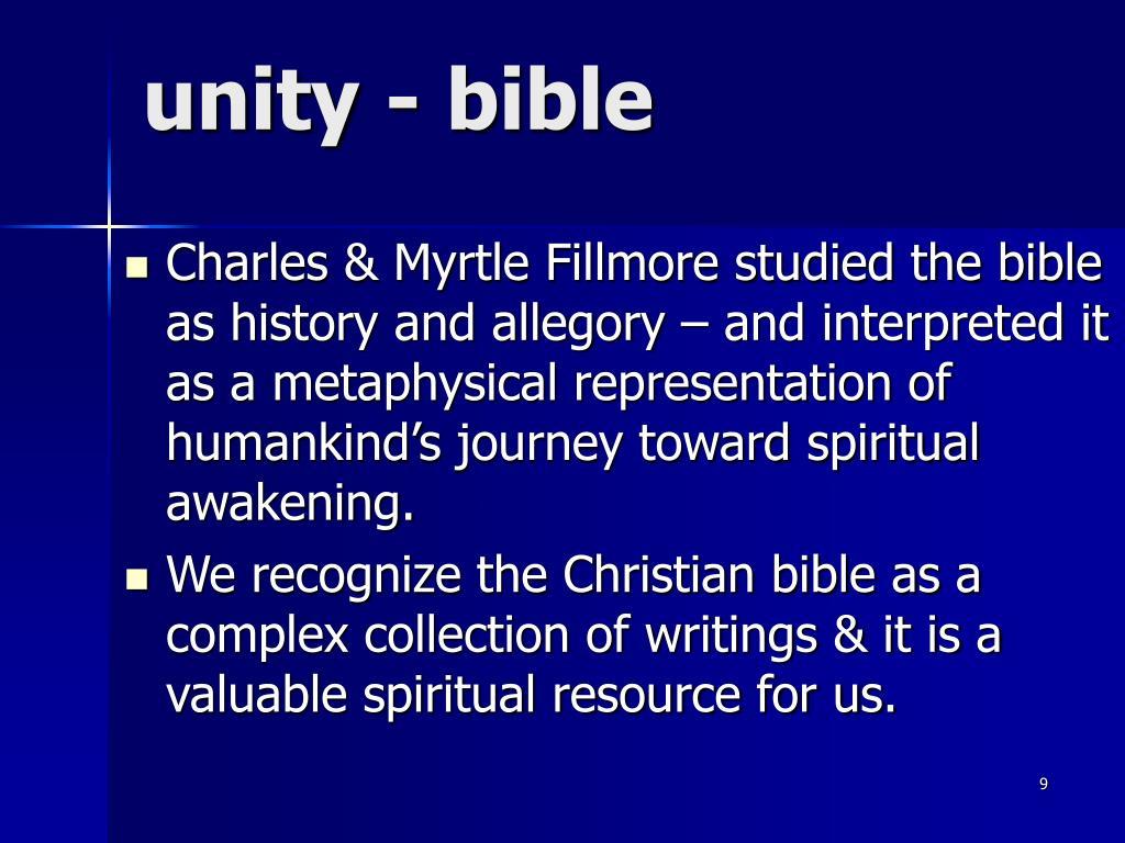 unity - bible