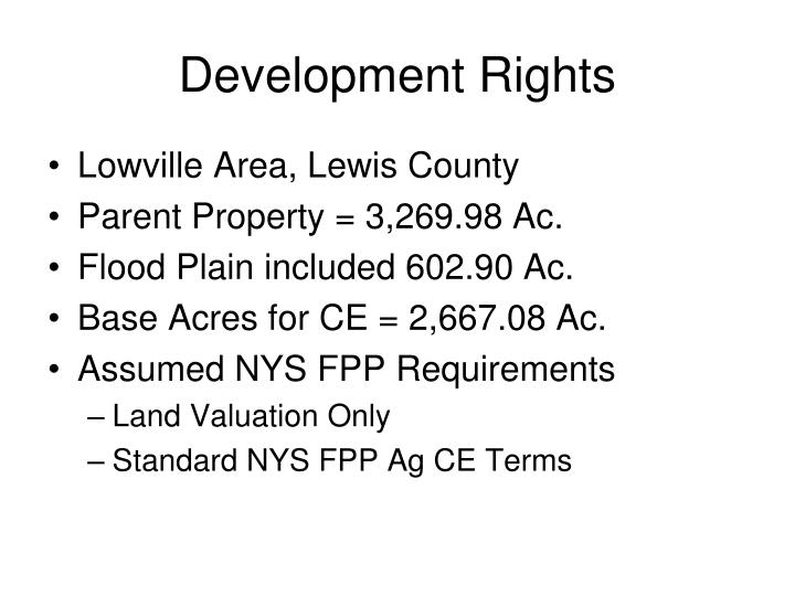 Development Rights