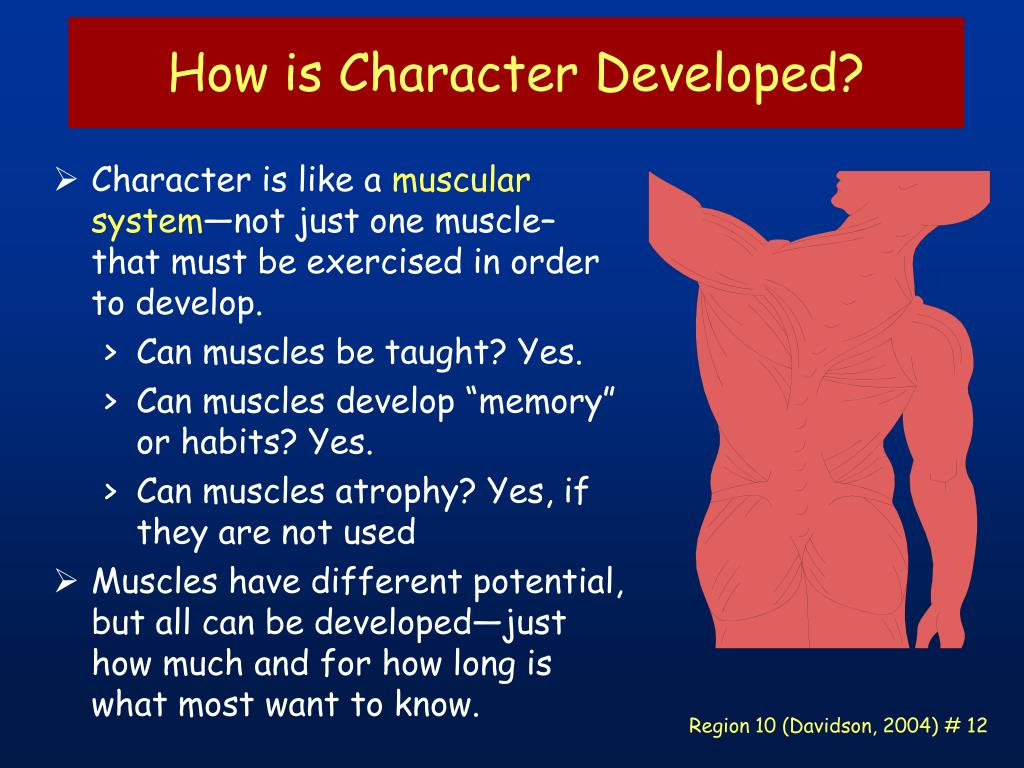 How is Character Developed?