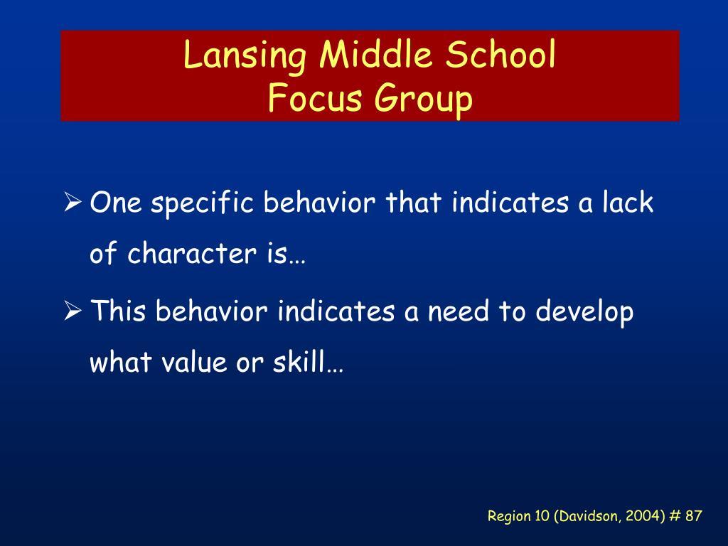 Lansing Middle School