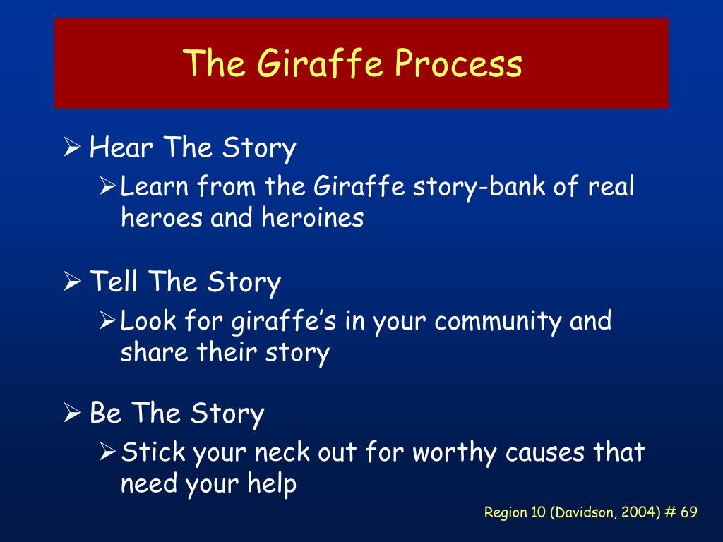 The Giraffe Process