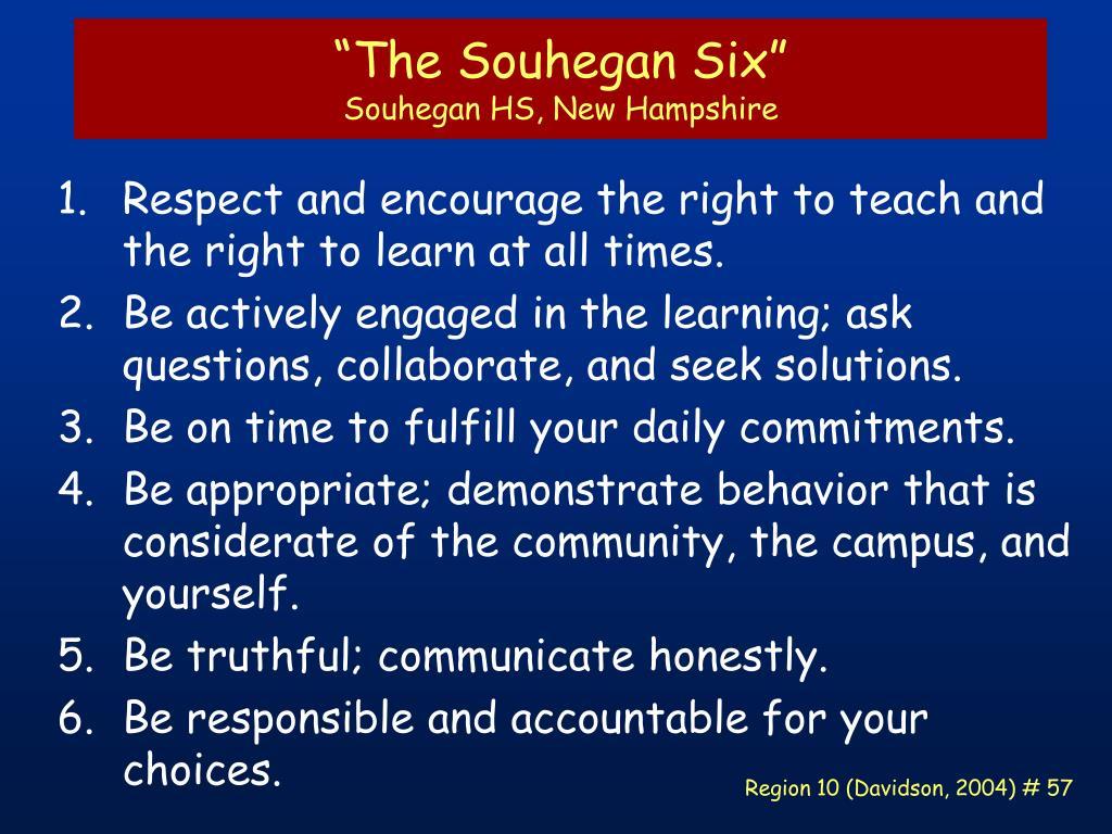 """The Souhegan Six"""