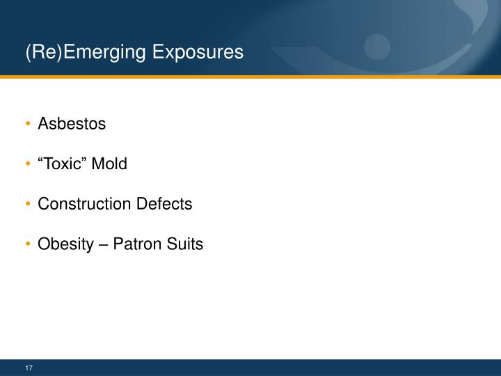 (Re)Emerging Exposures