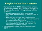 religion is more than a defence6