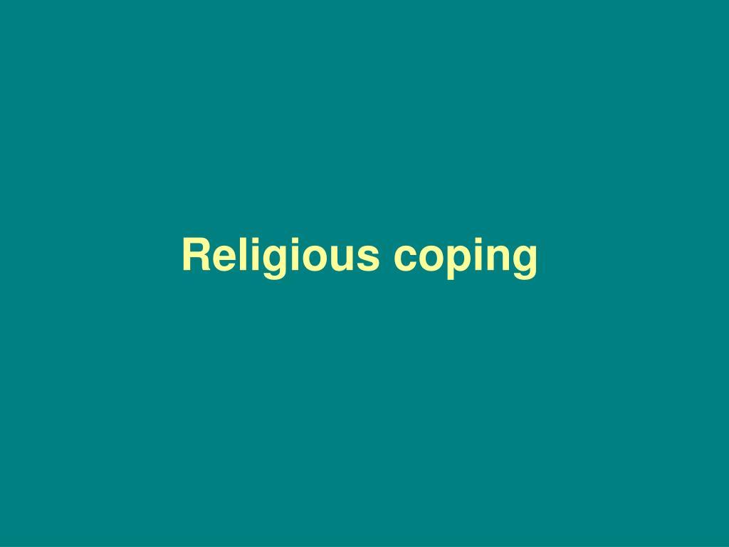 Religious coping