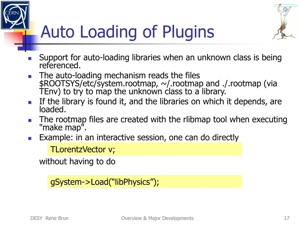 Auto Loading of Plugins