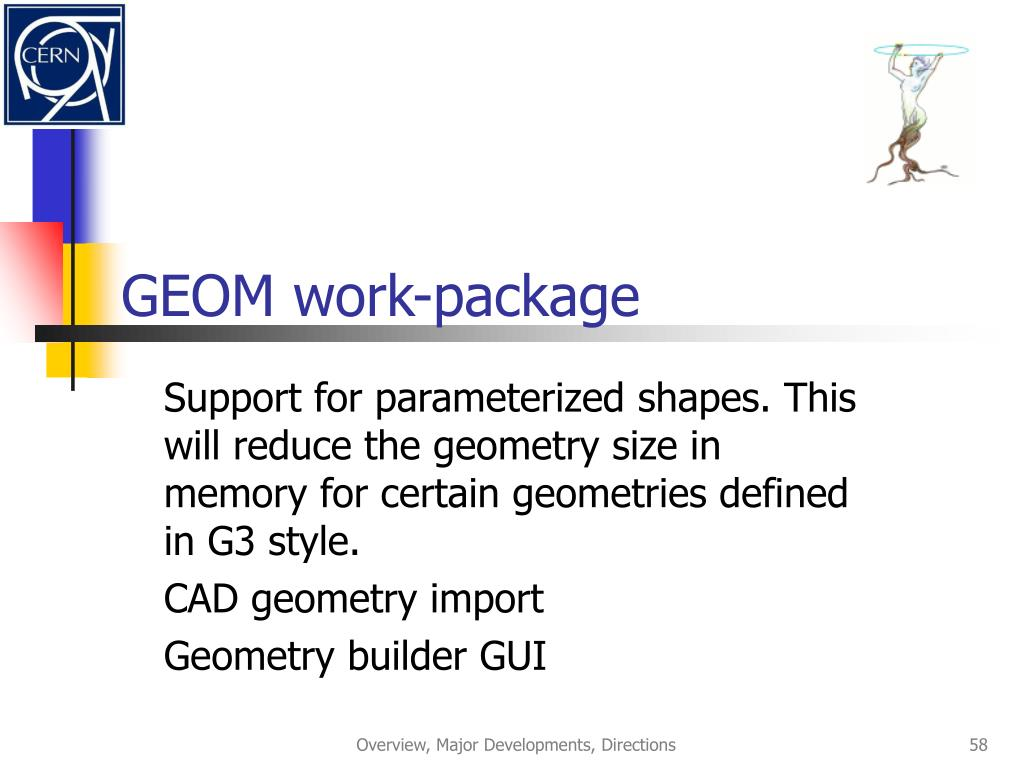 GEOM work-package