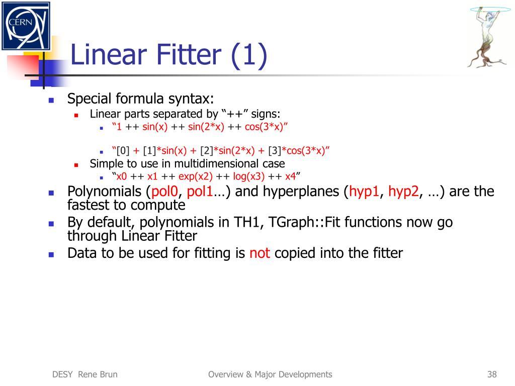 Linear Fitter (1)