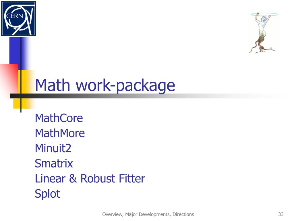 Math work-package