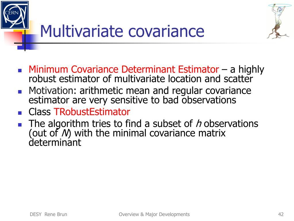 Multivariate covariance