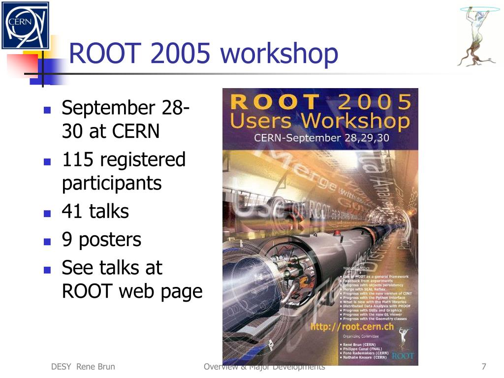 ROOT 2005 workshop