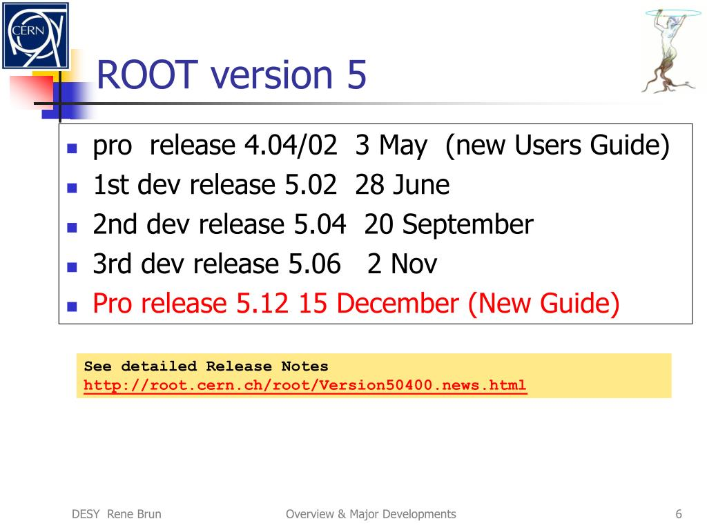 ROOT version 5