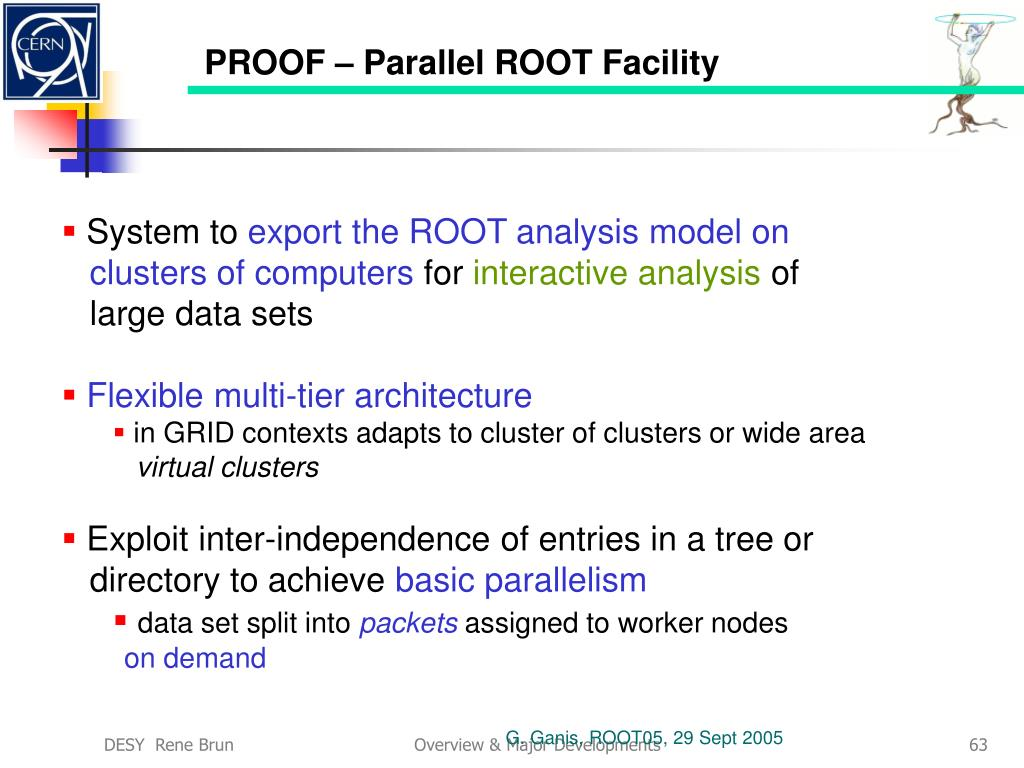 PROOF – Parallel ROOT Facility