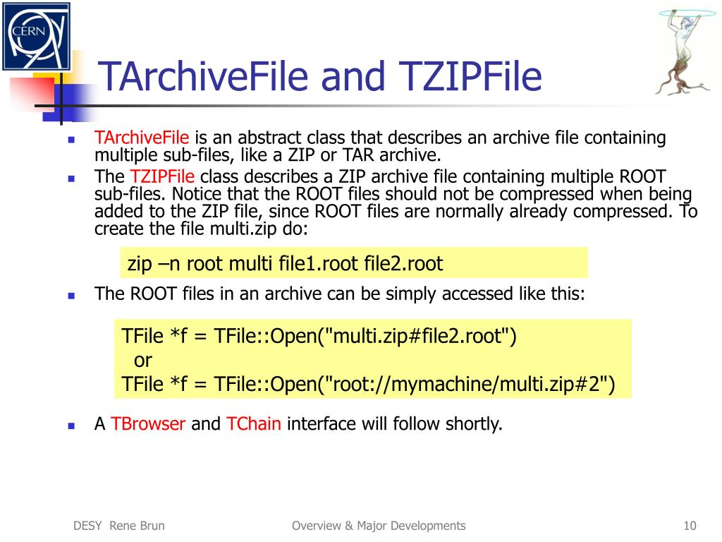 TArchiveFile and TZIPFile