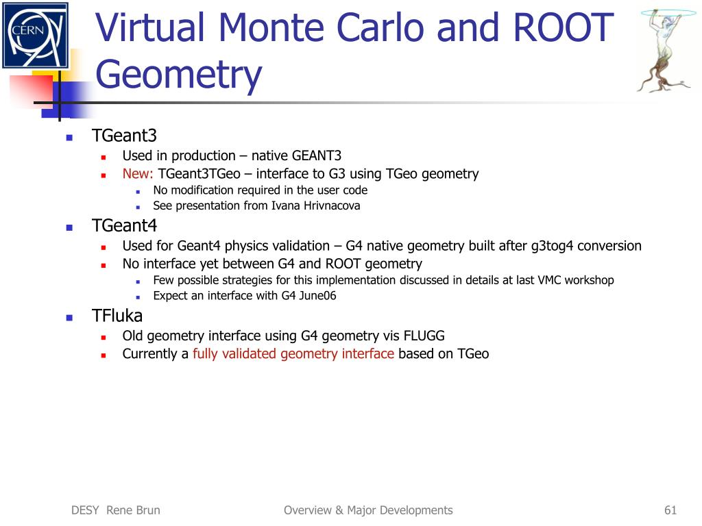 Virtual Monte Carlo and ROOT