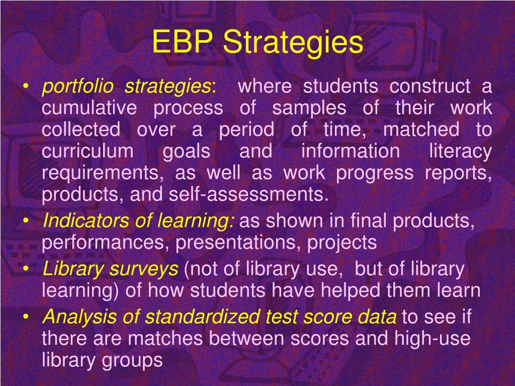 EBP Strategies