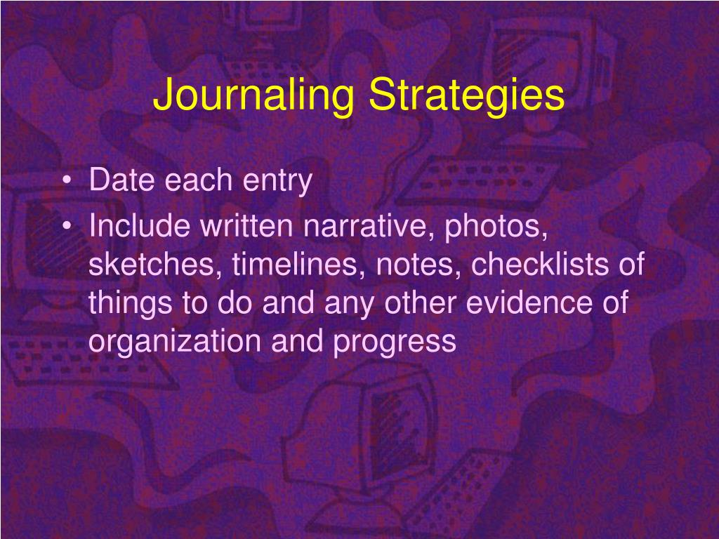 Journaling Strategies