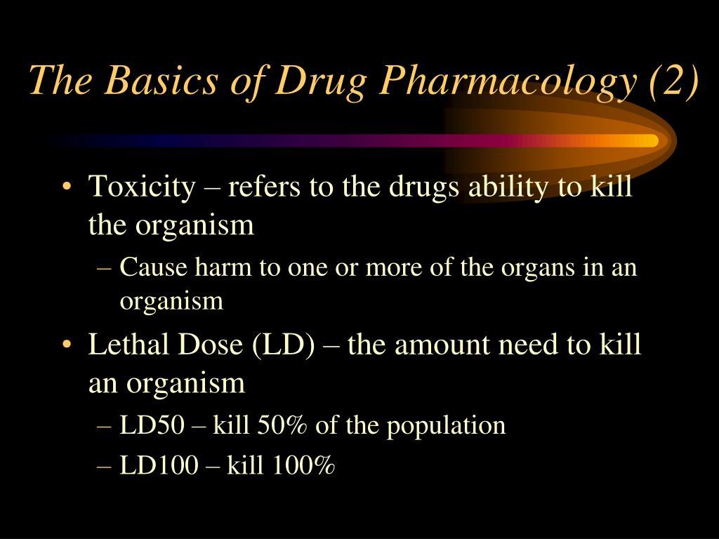 The Basics of Drug Pharmacology (2)